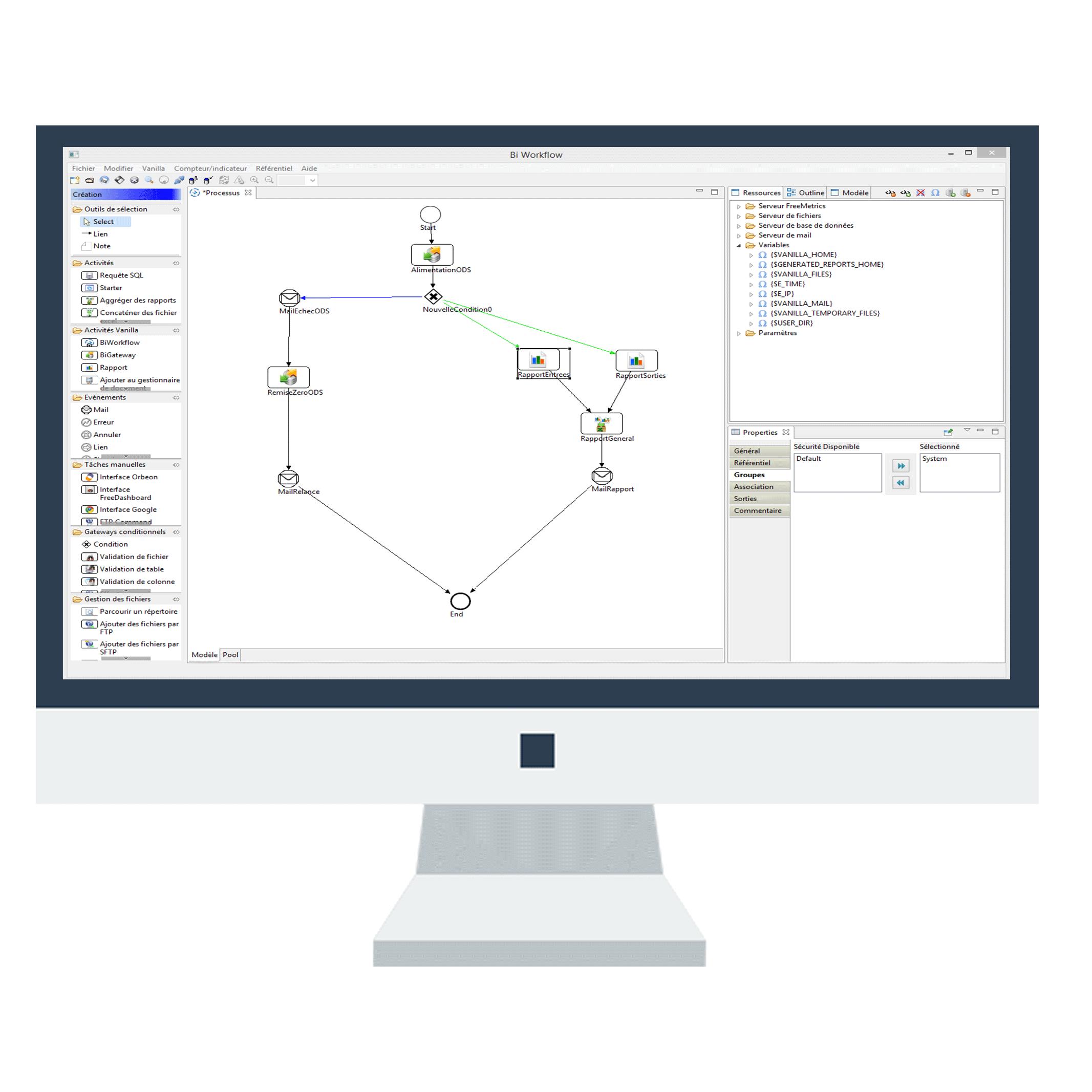 Vanilla BiWorkflow