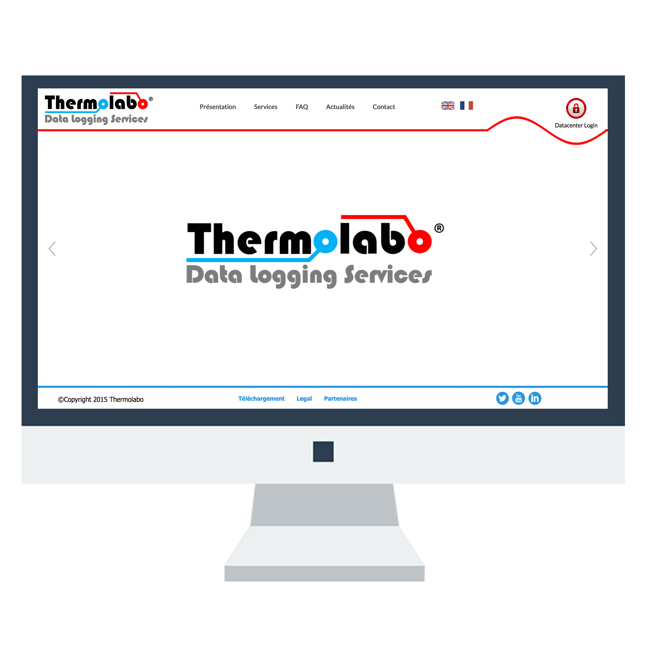 Thermolabo Website